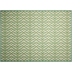 Waverly Sun N' Shade Centro Geometric Indoor Outdoor Rug