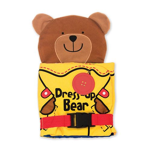 Melissa & Doug Dress Up Bear Activity Book