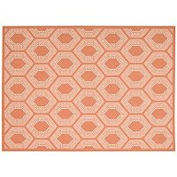 Waverly Sun N' Shade Bubbly Geometric Indoor Outdoor Rug