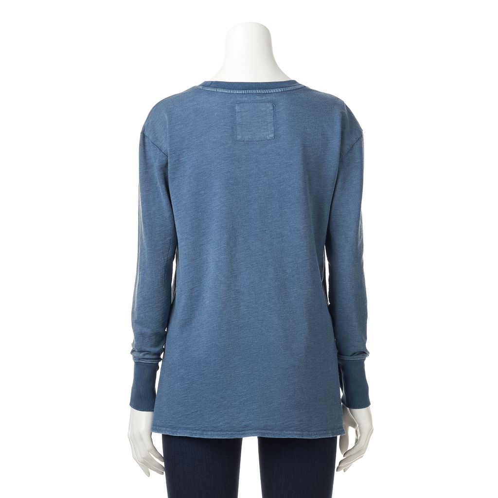Women's SONOMA Goods for Life™ High-Low French Terry Top