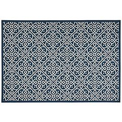 Waverly Sun N' Shade Lace It Up Lattice Indoor Outdoor Rug