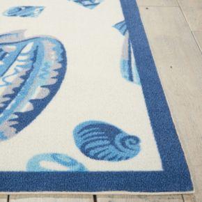 Waverly Sun N' Shade Low Tide Shell Indoor Outdoor Rug