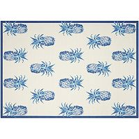 Waverly Sun N' Shade Pineapple Grove Indoor Outdoor Rug