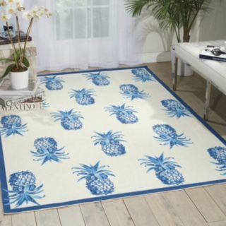 Waverly Sun N' Shade Pineapple Grove Indoor Outdoor Rug