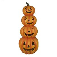 Celebrate Halloween Together Light-Up Stacked Jack-o'-Lantern Table Decor