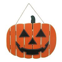 Celebrate Halloween Together Jack-o'-Lantern Wall Decor
