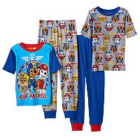 Boys 4-8 Paw Patrol 4-Piece Pajama Set