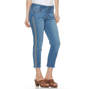 Women's ReCreation Frayed Denim Jeggings