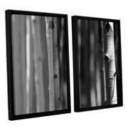 ArtWall A Way Out Framed Wall Art 2 pc Set