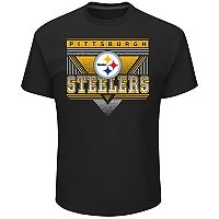 Men's Majestic Pittsburgh Steelers Keep Score Tee