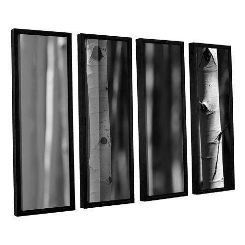 ArtWall A Way Out Framed Wall Art 4-piece Set