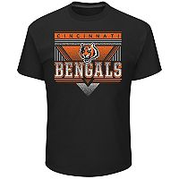 Men's Majestic Cincinnati Bengals Keep Score Tee