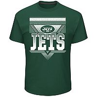 Men's Majestic New York Jets Keep Score Tee