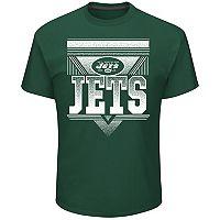 Men's Majestic New York Jets Keep Score Tee