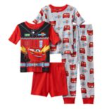 Boys 4-8 Disney/Pixar Cars 3 4-Piece Pajama Set