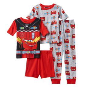 Boys 4-8 Disney/Pixar Cars 3 4-Piece Pajama Set
