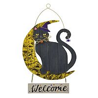 Celebrate Halloween Together Black Cat Wall Decor