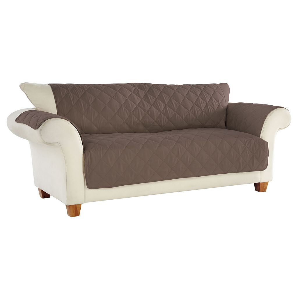 Serta No Slip Sofa Slipcover