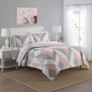 Marble Hill 3-piece Lena Reversible Comforter Set