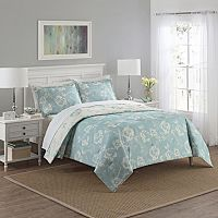 Marble Hill 3-piece Bonita Reversible Comforter Set