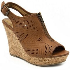 Rampage Chamomile Women's Wedge Sandals