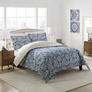 Marble Hill 3 pc Conventry Reversible Comforter Set