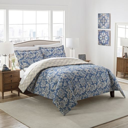 Marble Hill 3-piece Conventry Reversible Comforter Set