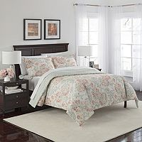 Marble Hill 3 pc Carlisle Reversible Comforter Set