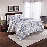Marble Hill 3-piece Carlisle Reversible Comforter Set