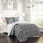 Marble Hill 3-piece Hadley Reversible Comforter Set