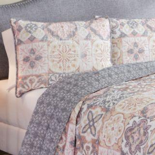 Marble Hill 3-piece Torrey Reversible Quilt Set