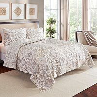 Marble Hill 3 pc Torrey Reversible Quilt Set