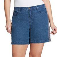 Plus Size Gloria Vanderbilt Danica Bermuda Jean Shorts