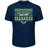 Men's Majestic Seattle Seahawks Keep Score Tee