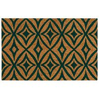 Waverly Greetings Centro Geometric Coir Doormat