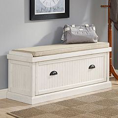 Crosley Furniture Seaside Storage Bench