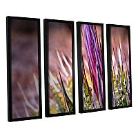 ArtWall Agave Framed Wall Art 4 pc Set