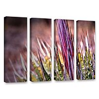 ArtWall Agave Canvas Wall Art 4 pc Set