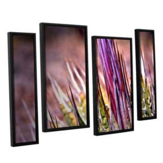 ArtWall Agave Framed Wall Art 4-piece Set
