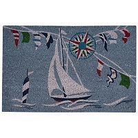 Waverly Greetings Sailing Coir Doormat