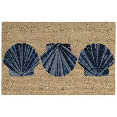 Waverly Greetings Trio Shells Coir Doormat