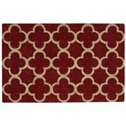 Waverly Greetings Framework Trellis Coir Doormat