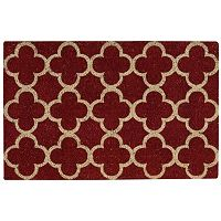 Waverly Greetings Framework Trellis Coir Doormat