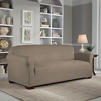 Serta Reversible Stretch Suede Sofa Slipcover