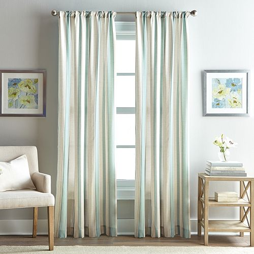 Hayworth Striped Window Curtain