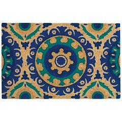 Waverly Greetings Solar Design Medallion Coir Doormat