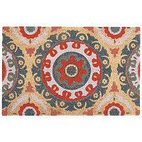 Waverly Greetings Solar Design Medallion Coir Doormat