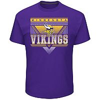 Men's Majestic Minnesota Vikings Keep Score Tee