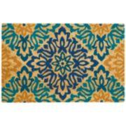 Waverly Greetings Sweet Details Floral Coir Doormat