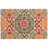 Waverly Greetings Sweet Details Floral Coir Doormat